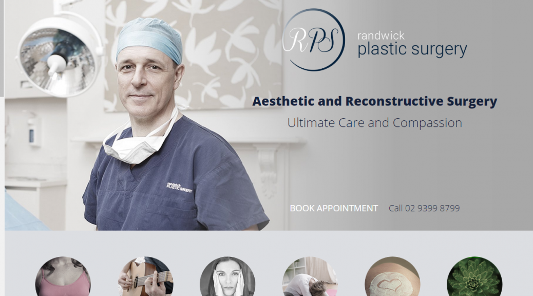 randwick plastic surgery new website
